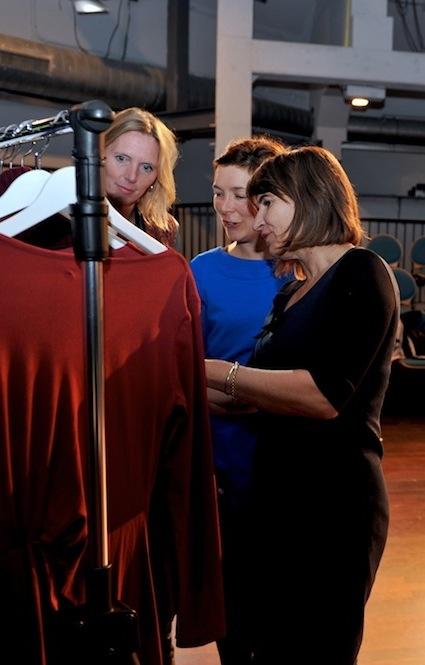 minister Ploumen Maaike Groen José Koopman sustainable garment production 10-2013.jpg